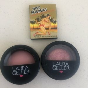 3 New Mini Blushes: Laura Geller and TheBalm